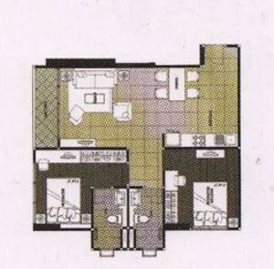 Picture of 2 bed Condo in Wish @ Samyan Mahaphruettharam Sub District C09366
