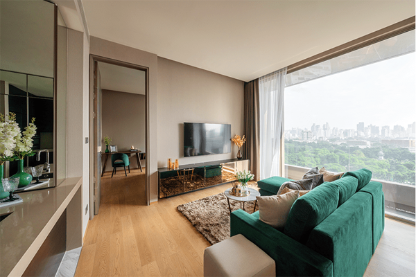 Picture of 1 bed Condo in Saladaeng One Silom Sub District C014131