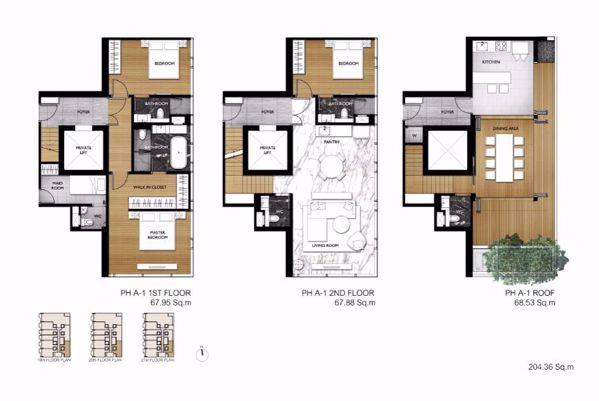 รูปภาพ 3 ห้องนอน Condo ในโครงการ Siamese Exclusive Sukhumvit 31 Khlong Toei Nuea Sub District C014858