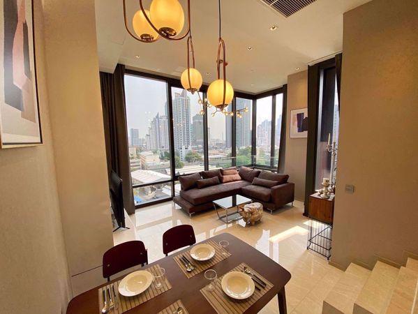 รูปภาพ 2 ห้อง Duplex in Ashton Silom Suriyawong Sub District D015109