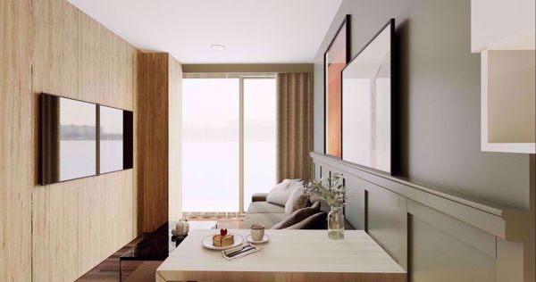 รูปภาพ 2 ห้องนอน Condo ในโครงการ Whizdom Inspire Sukhumvit Bangchak Sub District C015574