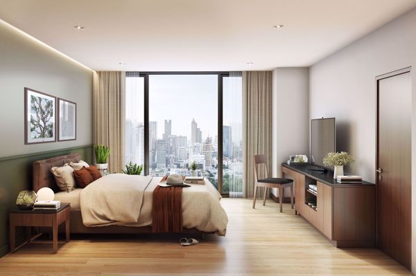 รูปภาพ 2 ห้องนอน Condo ในโครงการ Seven Place Executive Residences Khlong Tan Nuea Sub District C015764