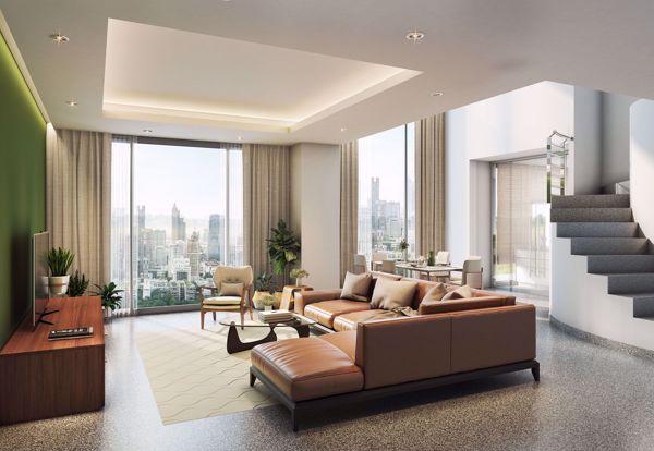 รูปภาพ 2 ห้อง Duplex in Seven Place Executive Residences Khlong Tan Nuea Sub District D015765