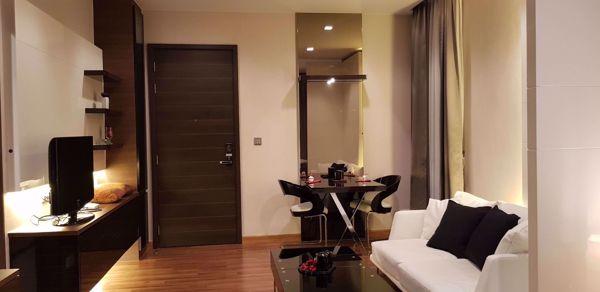 รูปภาพ Studio ห้องนอน Condo ในโครงการ Ivy Ampio Huai Khwang Sub District C015996